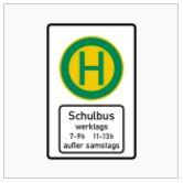 Zeichen 224 Schulbushaltestelle